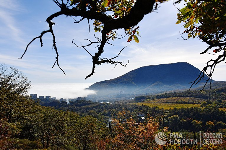 Гора Аю-Даг. Крым