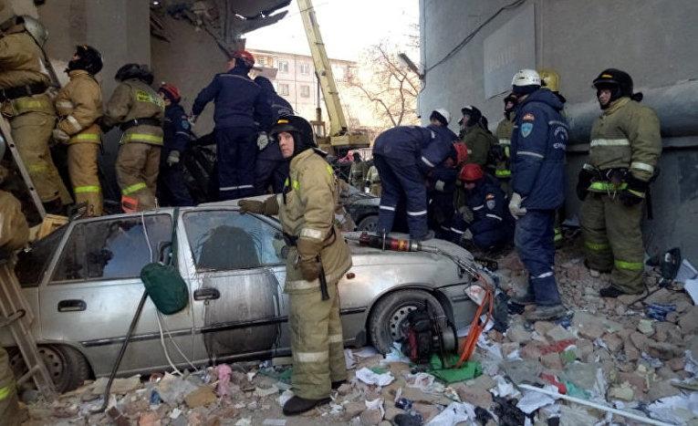 31 декабря 2018 года Магнитогорск взрыв в жилом доме