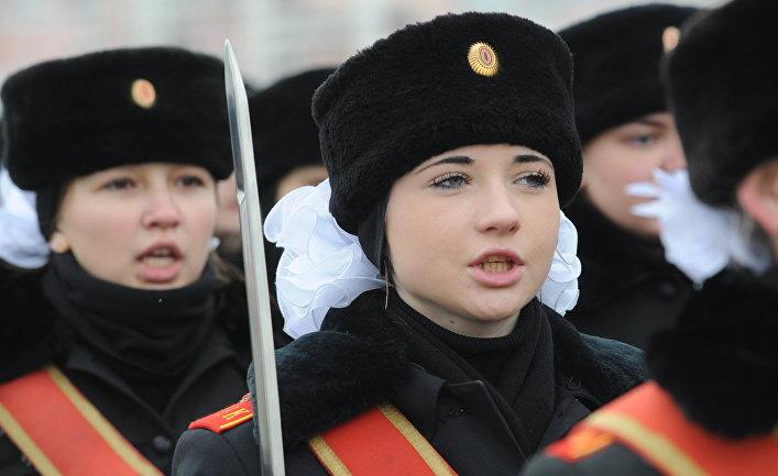 Репетиция торжественного парада, посвященного 68-й годовщине исторического парада на Красной площади 7 ноября 1941 года