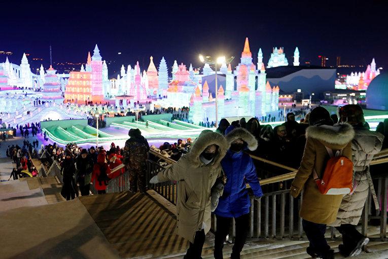 Посетители фестиваля