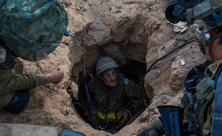 Десантники бригады ЦАХАЛа в секторе Газа ликвидируют туннели ХАМАСА