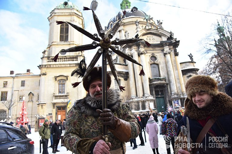 Православное Рождество на Украине