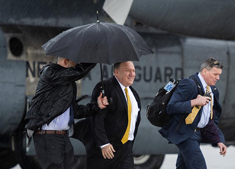 Визит госсекретаря США Майка Помпео в Ирак