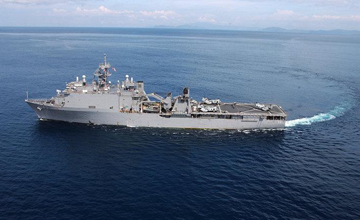 Десантный корабль США «Форт Мак Генри»