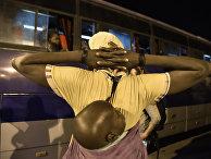 Африканские мигранты на юге Алжира
