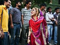 Молодые люди в Пакистане