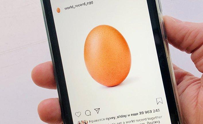 Аккаунт World_record_egg в Instagram