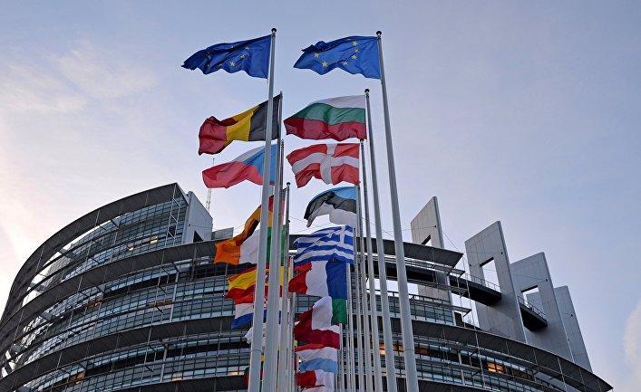 Пленарная сессия Европейского парламента