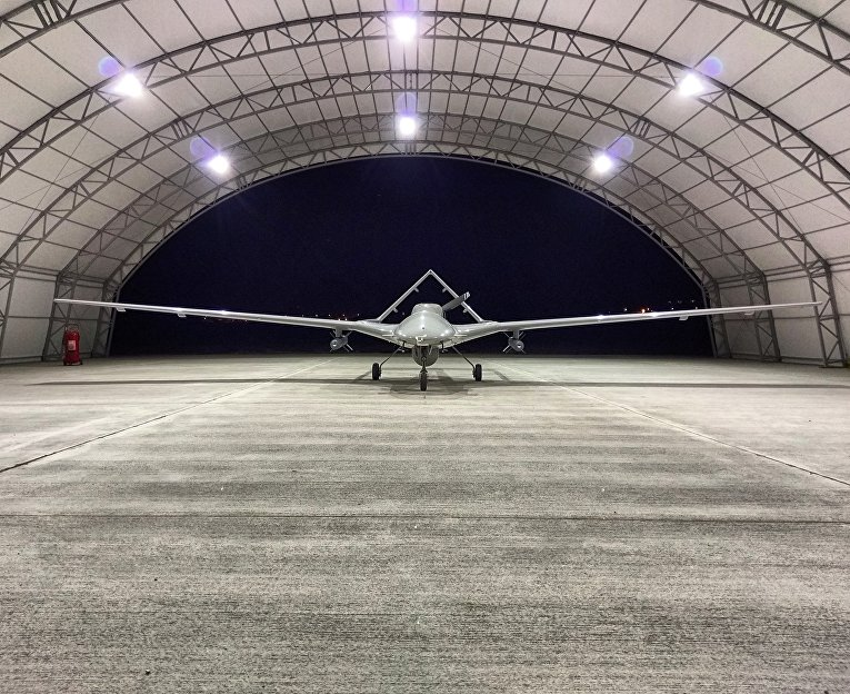 Турецкий разведывательный беспилотный летательный аппарат «Байрактар ТБ2»