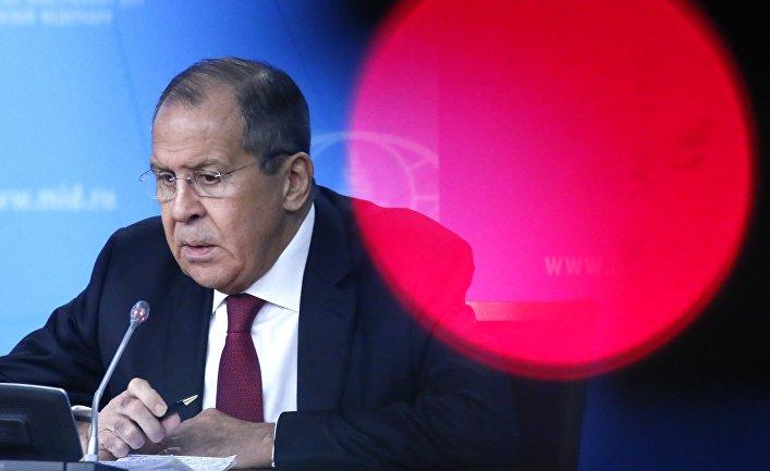 16 января 2019. Сергей Лавров на ежегодной пресс-конференции