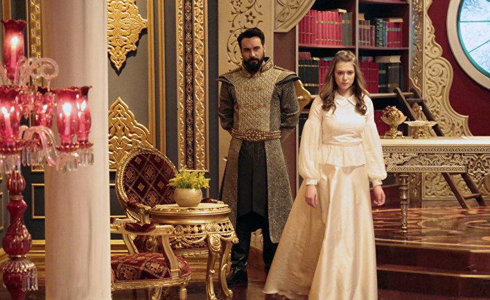 Кадр из сериала «Султан моего сердца»
