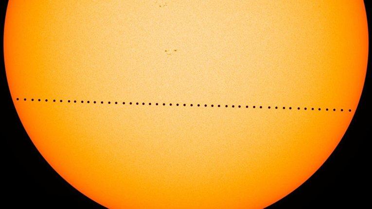 Прохождение Меркурия по диску Солнца