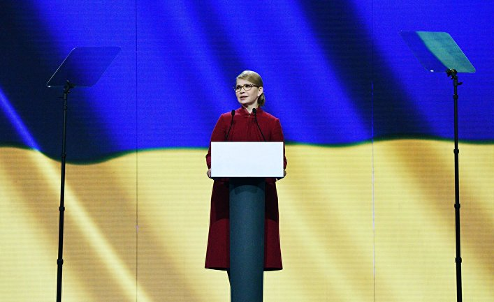 Съезд «Батькивщины» выдвинул Ю. Тимошенко кандидатом в президенты Украины