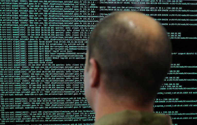 Работа за компьютером во Франции