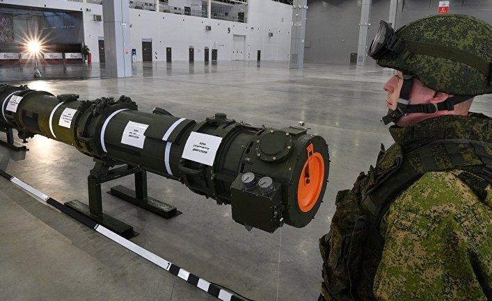 Демонстрация ракеты 9М729 для военных атташе