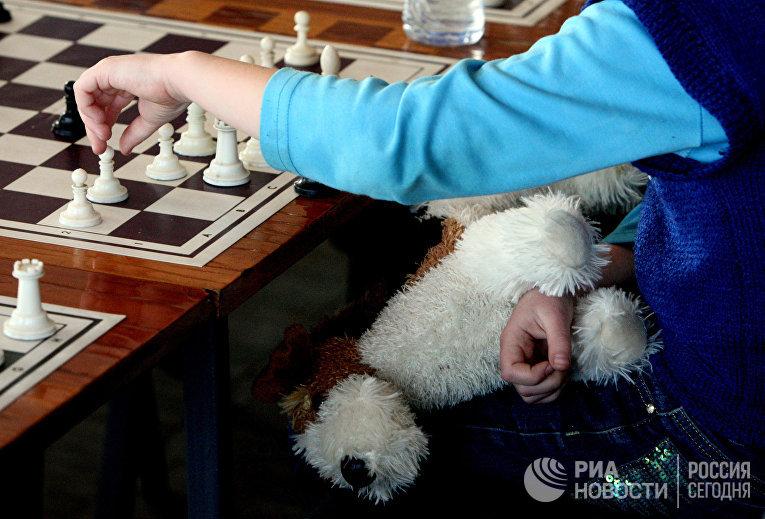 Первенство Владивостока по шахматам среди детей до десяти лет