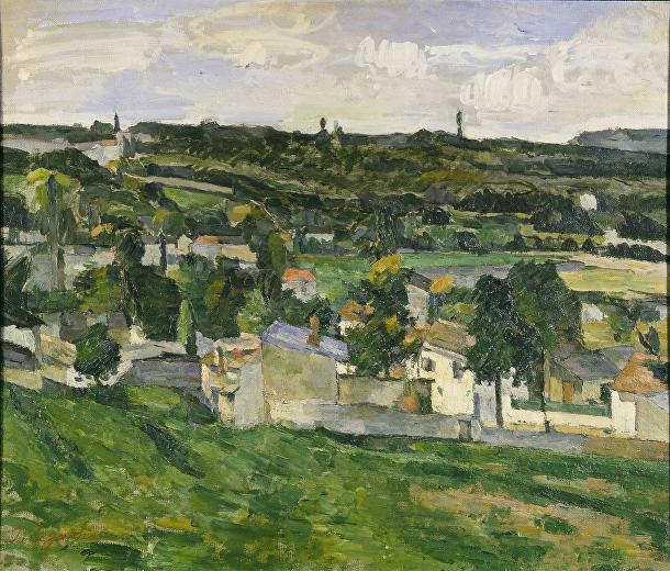 «Вид на Овер-сюр-Уаз»