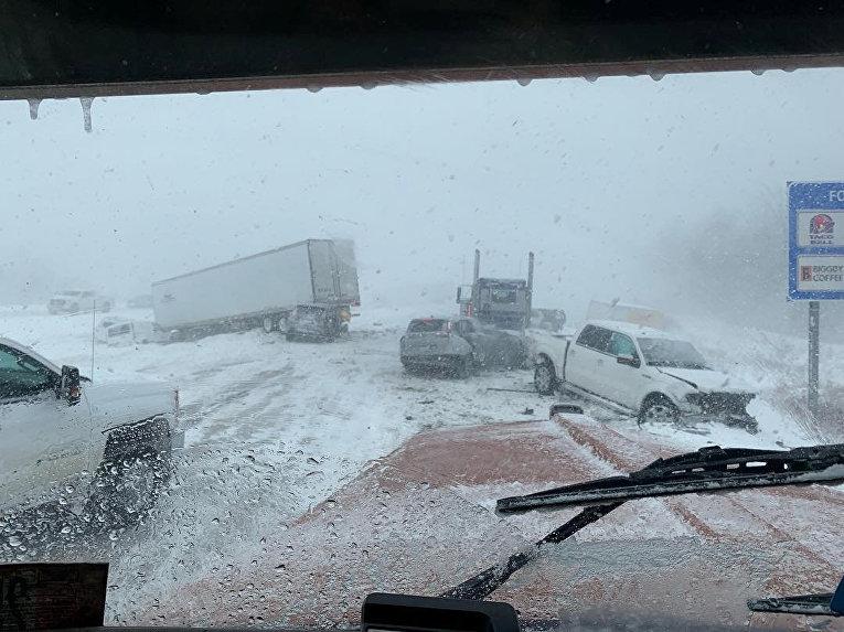 Автомобильная авария в Гранд-Рапидс, штат Мичиган