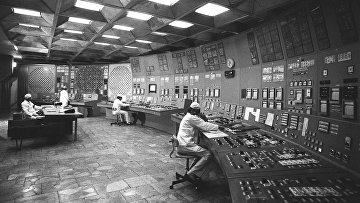 На Чернобыльской АЭС до аварии