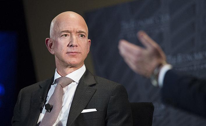 Генеральный директор Amazon Джефф Безос