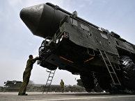 Подготовка военной техники, участвующей в Параде Победы