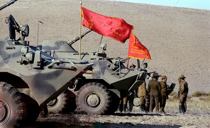 Возвращение советских воинов-интернационалистов из Демократической Республики Афганистан