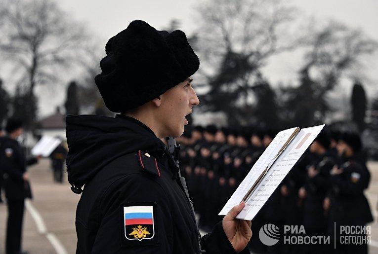 День открытых дверей в бригаде разведки Черноморского флота