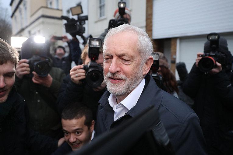 Лидер оппозиционной Лейбористской партии Джереми Корбин