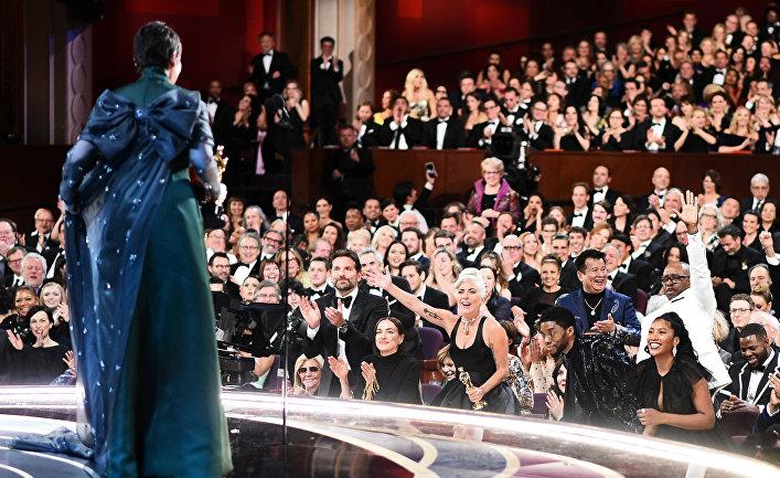 Церемония вручения премиии Оскар в Лос-Анджелесе