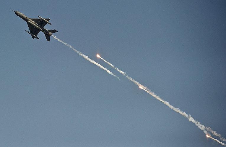 Самолет Миг-21 индийских ВВС