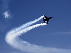 Истребитель пакистанских ВВС F-16