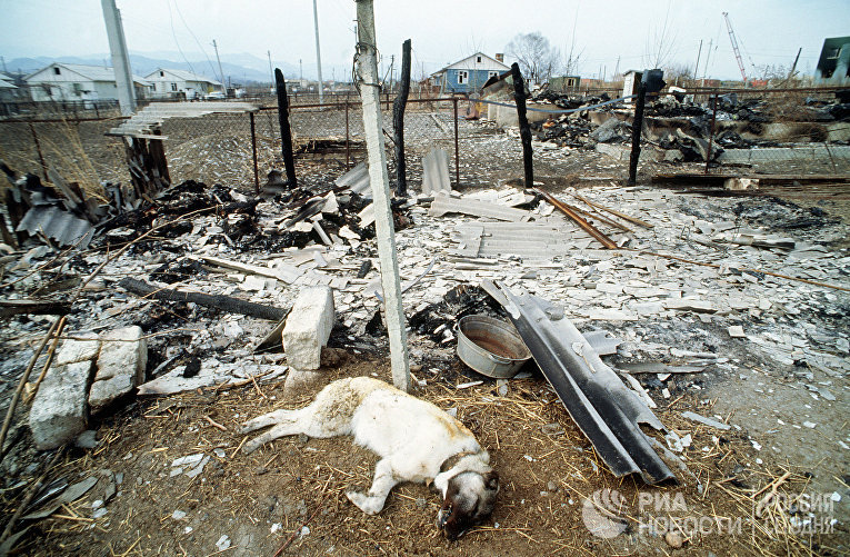26 февраля 1992 года во время армяно-азербайджанского нагорнокарабахского военного конфликта азербайджанский город Ходжалы, население которого составляло более 7 тысяч человек, был стерт с лица земли.