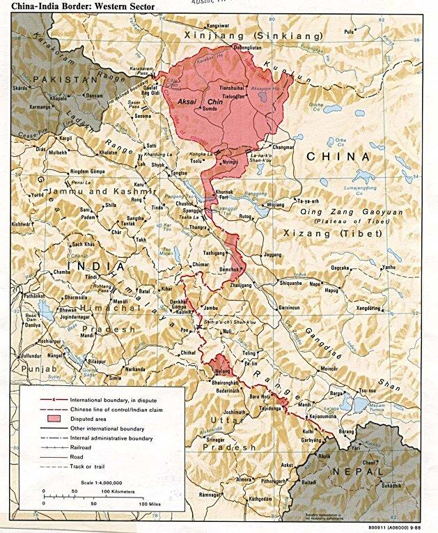 Китайско-индийская пограничная война
