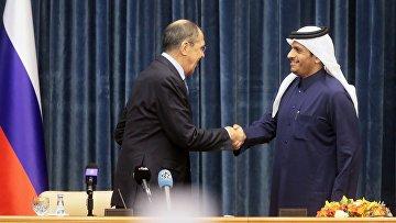 Визит главы МИД РФ С. Лаврова в Катар