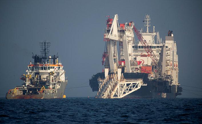Трубоукладочное судно Nord Stream 2
