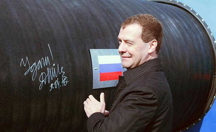 """Церемония начала строительства газопровода """"Северный поток"""""""