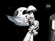 SpaceX Dragon приближается к Международной космической станции