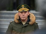 Начальник генштаба Вооруженных сил РФ Валерий Герасимов