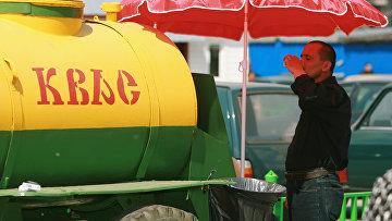 Торговля квасом в Москве