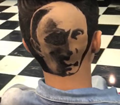 Прическа с Путиным