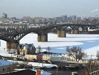 Вид на Канавинский мост. Нижний Новгород