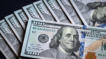 Купюры американских долларов