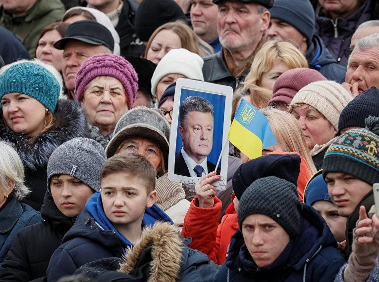 Встреча Петра Порошенко с избирателями