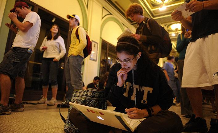 Студенты университета Питтсбурга
