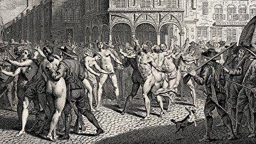 Арест адамитов в Амстердаме