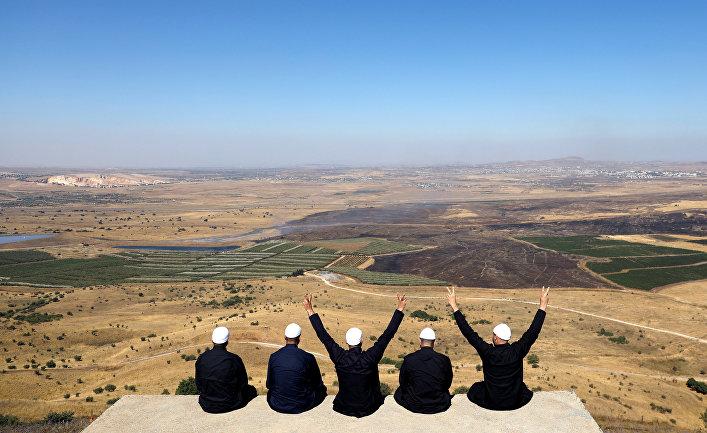 Друзы Израиля на Голанских высотах