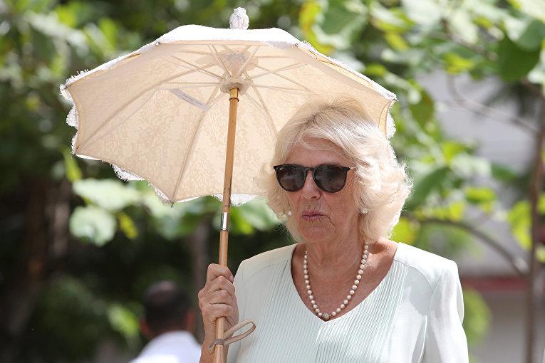 Камилла, герцогиня Корнуольская во время посещения Гаваны