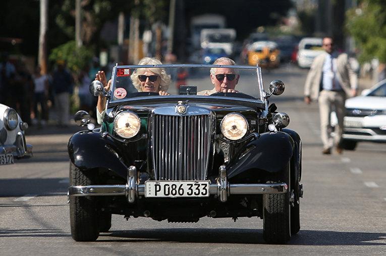Принц Чарльз и Камилла, герцогиня Корнуольская в Гаване