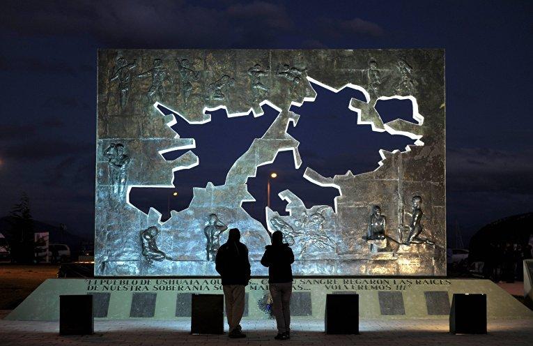 Памятник Фолклендским островам