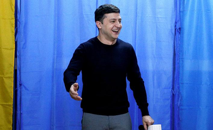 Украинский комический актер и кандидат в президенты Владимир Зеленский